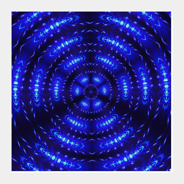abstract fractal decorative radial digital art background square art