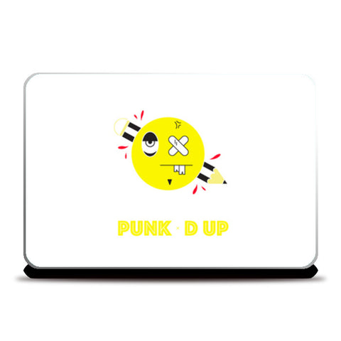 punked up Laptop Skins | Artist : Shantanu Kumar