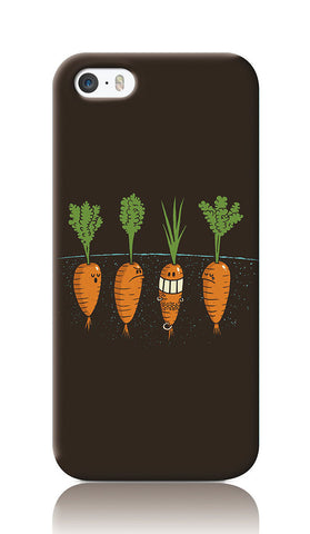 iPhone Cases, Carrots Dark Grey iPhone 5/5S Case | By Captain Kyso, - PosterGully