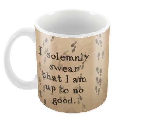 Harry Potter-I solemnly swear quote Coffee Mugs | Artist : Naeema Rezmin