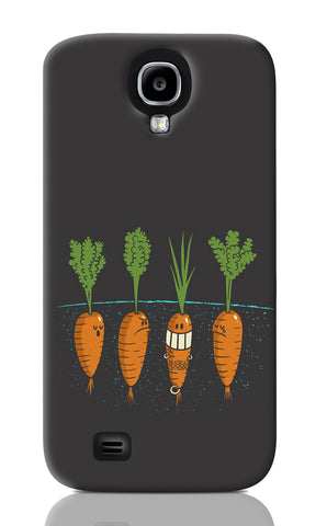 Samsung S4 Cases, Carrots Dark Grey 2 Samsung S4 Case | By Captain Kyso, - PosterGully
