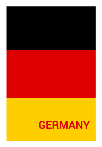 Germany | #Footballfan Wall Art | Artist : Creative DJ