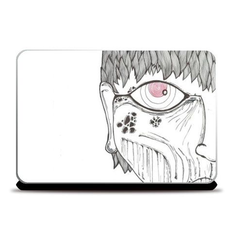 eyes on you doodle Laptop Skins | Artist : Raj Patel