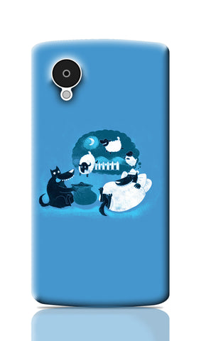 Nexus 5 Cases, Counting Sheep Nexus 5 Case | By Captain Kyso, - PosterGully