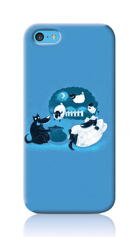 iPhone Cases, Counting Sheep iPhone 5C Case | By Captain Kyso, - PosterGully