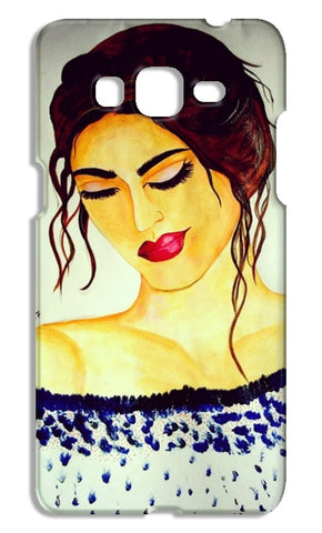 A Beautiful Women Painting Samsung Galaxy Grand Prime Cases | Artist : Pallavi Rawal
