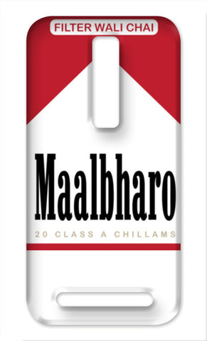 Maalbharo - A tribute to Marlboro and tea lovers ! Asus Zenfone 2 Cases | Artist : Wiser Budweiser