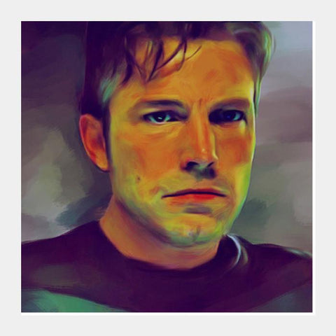 Ben Affleck Square Art Prints PosterGully Specials