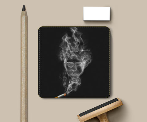 PosterGully Coasters, The Cigarette is Smoking You! Coasters | Artist : kapil Verma, - PosterGully