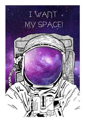 SPACE MAN! Wall Art | Artist : DISHA BHANOT