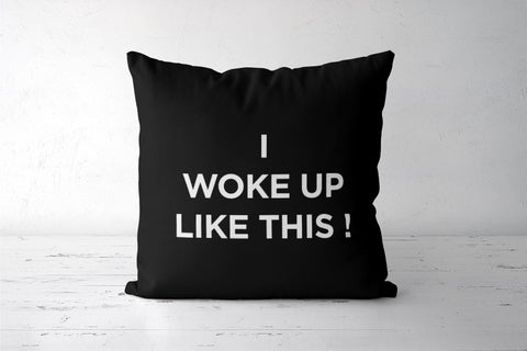 For real tho  Cushion Covers | Artist : Naman Kapoor