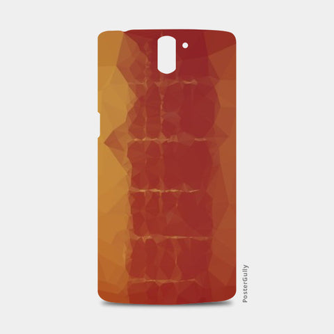 polygonal guitar One Plus One Cases | Artist : Aakarsh Sharma