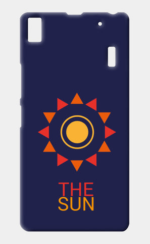 The sun Lenovo A7000 Cases | Artist : Akash Gutha