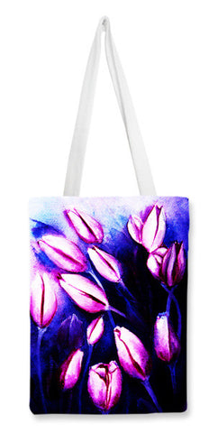 Tote Bags, violer Tote Bags | Artist : Tilly Jacob, - PosterGully