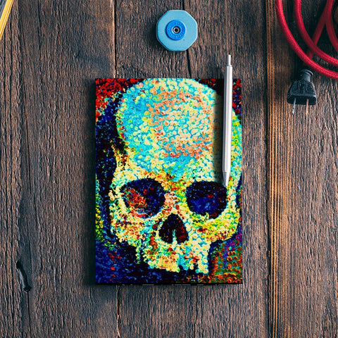 Colorful Skull Notebook | Artist : ashman's