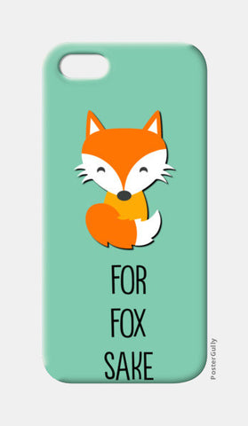 FOR FOX SAKE iPhone 5 Cases | Artist : Manju Nk