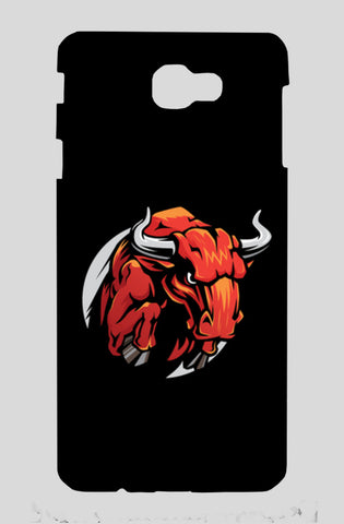 Bull Mascot Samsung On Nxt Cases | Artist : Inderpreet Singh