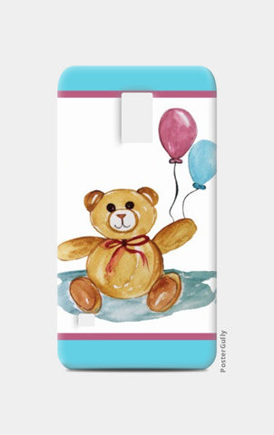 Samsung S5 Cases, Cute Teddy With Balloons Samsung S5 Cases | Artist : Singhroha Art, - PosterGully