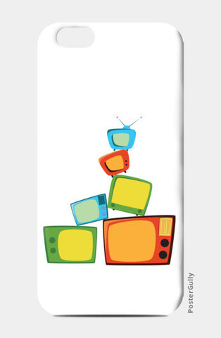 TV time iPhone 6/6S Cases | Artist : Juergen Dsouza