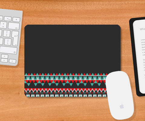 Abstract Border design Mousepad | Artist : Amantrika Saraogi