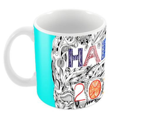Happy 2016 Coffee Mugs | Artist : Amulya Jayapal