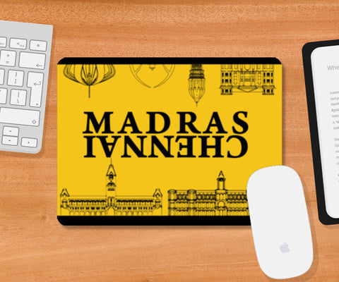Madras Buildings Mousepad | Artist : Kaagidham