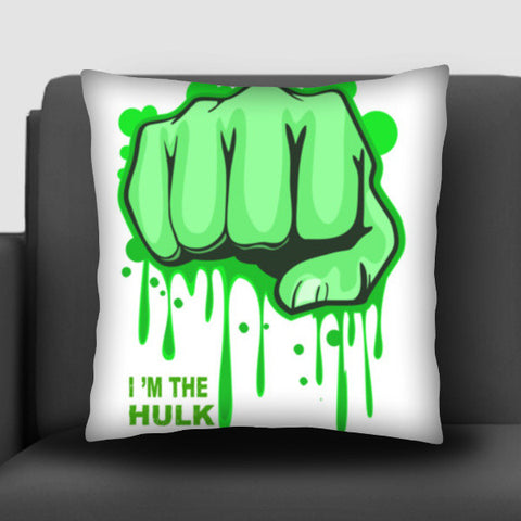 i m the hulk Cushion Covers | Artist : nilesh gupta
