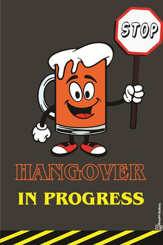 Hangover Art PosterGully Specials
