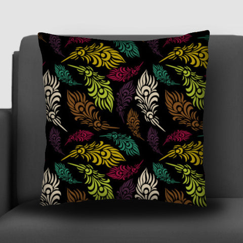 Seamless hand drawn vector leaves  Cushion Covers | Artist : Designerchennai