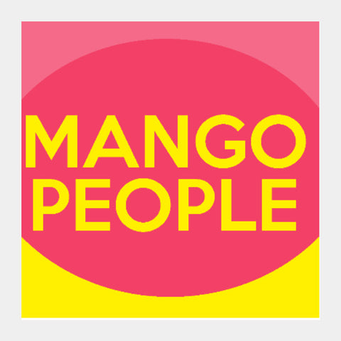 Square Art Prints, Mango People | Artist: Siddhant Talwar, - PosterGully