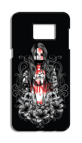 Girl With Tattoo Samsung Galaxy S6 Edge Plus Cases | Artist : Inderpreet Singh