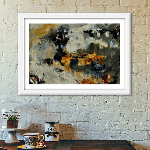 abstract 778855 Premium Italian Wooden Frames | Artist : pol ledent