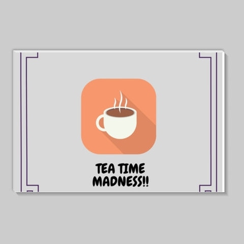 Tea Time Madness Stick Ons | Artist : Pallavi Rawal
