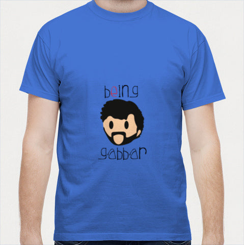 being gabbar Men T Shirts | Artist : sukesh jain