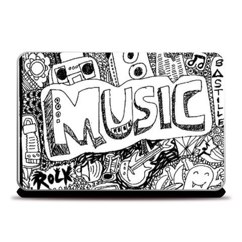 Laptop Skins, Music Laptop Skin | Artist:  Aishwarya Girish Menon, - PosterGully