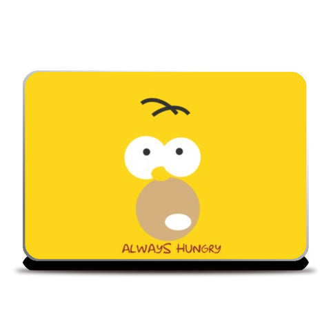Laptop Skins, Always hungry homer Laptop Skins | Artist : Shravan Suresh, - PosterGully