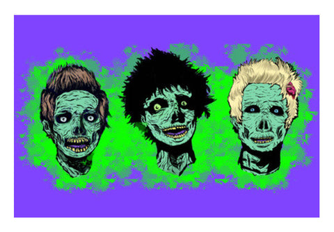 punk's not dead Wall Art  | Artist : Sayra Shaikh