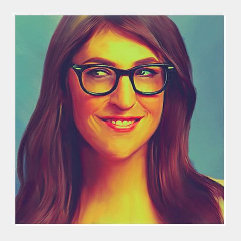 Mayim Bialik Square Art Prints PosterGully Specials