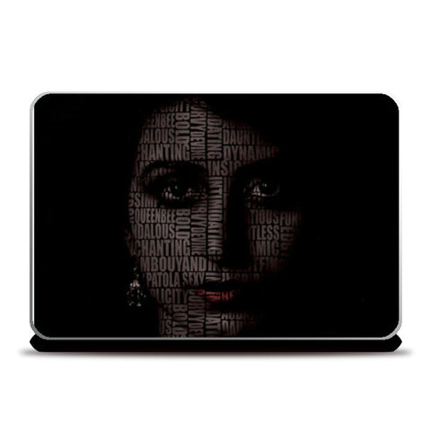 The indian women power. Femenism Laptop Skins | Artist : Aayush Ranjan