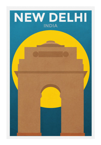 New Delhi SCD1 Wall Art | Artist : Danish Prakash