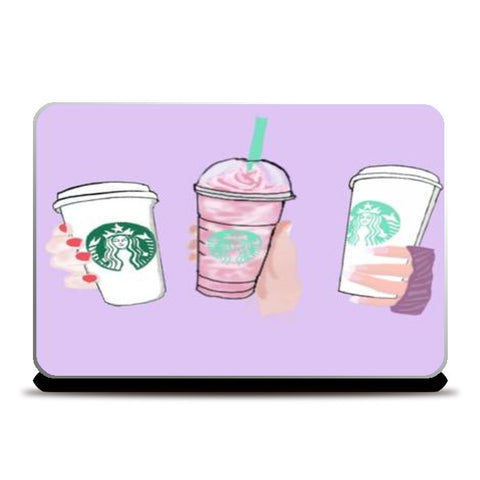 Starbucks Laptop Skins | Artist : Priyanka Paul