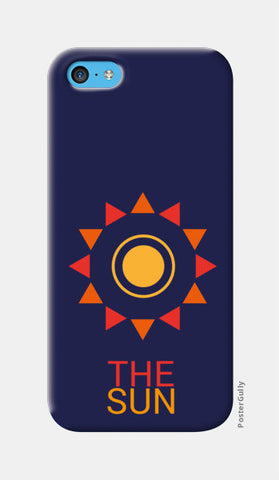 The sun iPhone 5c Cases | Artist : Akash Gutha