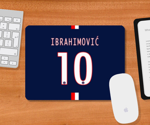 Mousepad, Zlatan Lbrahimović instead 10 Mousepad | Artist: GS, - PosterGully