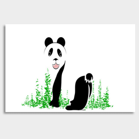 THE PANDA is a symbol of gentleness and strength. it is an auspicious symbol of peace, harmony Giant Poster | Artist : amit kumar