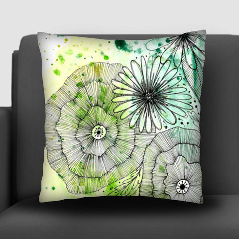 Woodland Florals Cushion Covers | Artist : Swathi Kirthyvasan