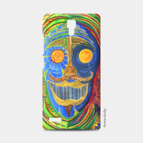 Redmi Note Cases, The Face of the Shraman Redmi Note Cases | Artist : Luke's Art Voyage, - PosterGully