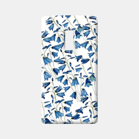 One Plus Two Cases, Blue Floral Background Design One Plus Two Cases | Artist : Seema Hooda, - PosterGully