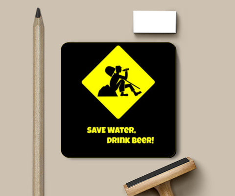 Coasters, Save Water Coasters | Artist : Prankbaaz Officials, - PosterGully