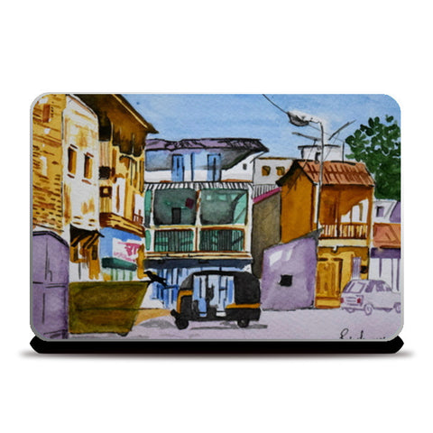 The Empty Street Laptop Skins | Artist : Rahul Tanwar
