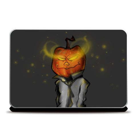 Laptop Skins, White collar halloween Laptop Skins | Artist : Safal Adam, - PosterGully